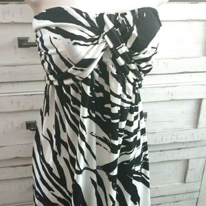 Womens multi tie vacation dress size small